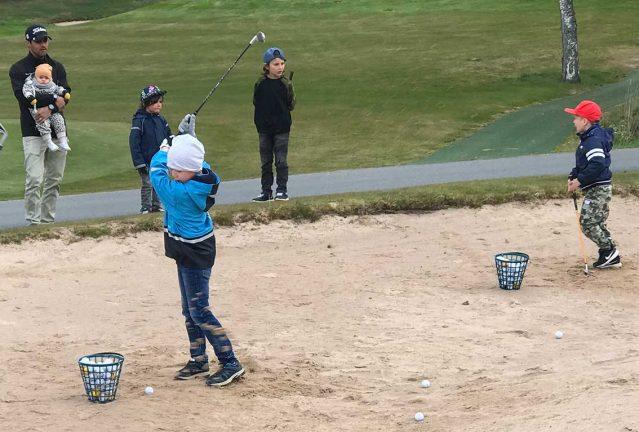 Uppsving för golfen under corona