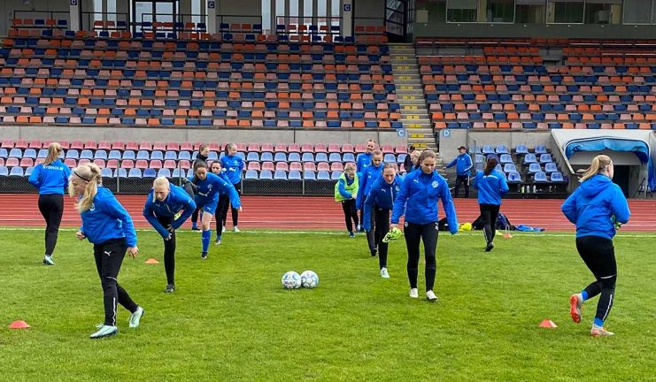 IFK Dam U spelade 4–4