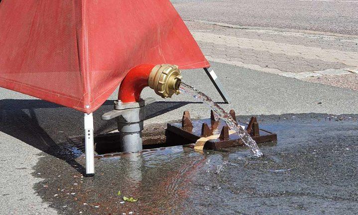 Byte görs av gamla dricksvattenledningar