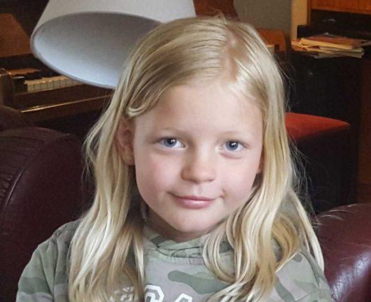 Isabel Wellermark 9 år