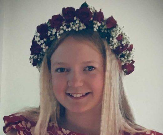 Svea Adén 12 år