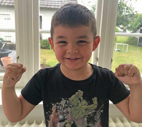 Vincent Juul 4 år