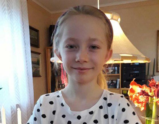 Lovisa Andersson 9 år