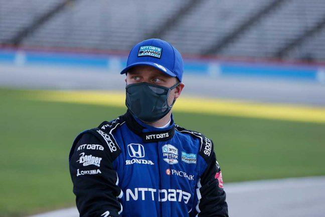 Felix Rosenqvist på plats 14