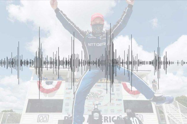Ljudklipp: Felix Rosenqvist om första segern i indycar
