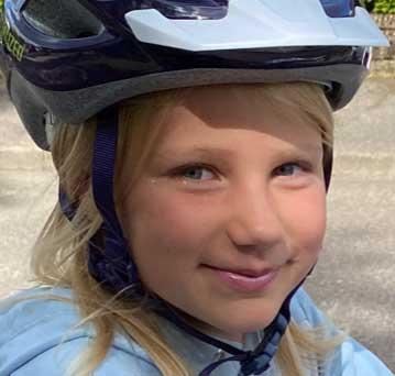 Isabelle Storck 8 år