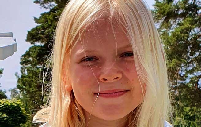 Meja Sandahl 9 år