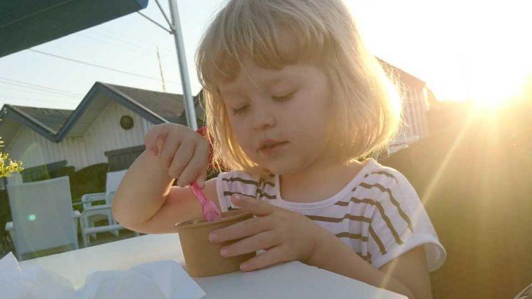 Astrid Sandberg 3 år