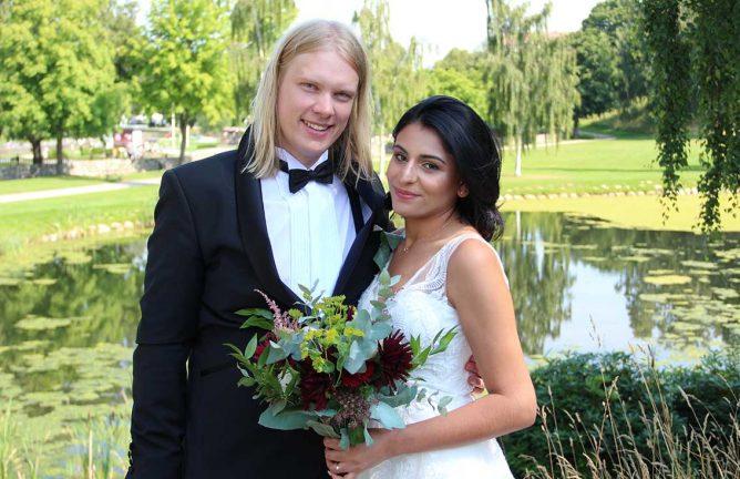 Caroline och Erik