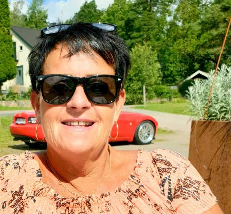 Catharina Gustafsson 60 år