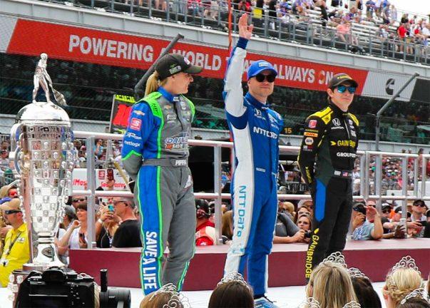 Felix Rosenqvist redo för Indy 500
