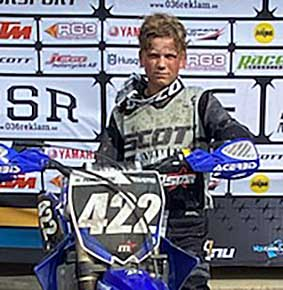 Hugo Forsgren vann i Enköping