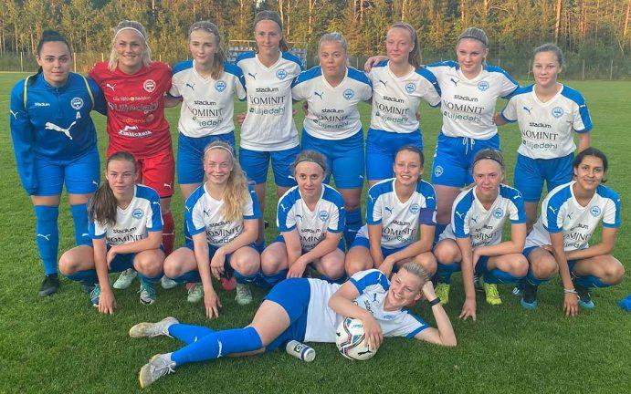 IFK dam U vann med 4–3