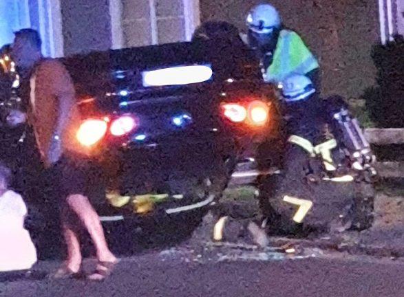 Bilolycka i Vaggeryd