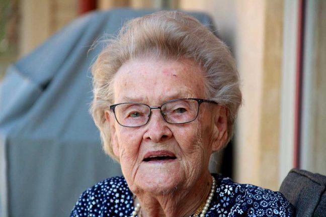 Rut Petersson 100 år