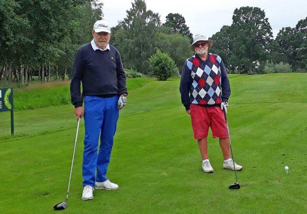 Golftävlingarna igång igen