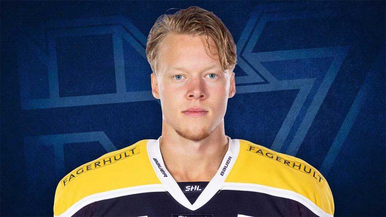Anton Karlsson är ny i HV 71