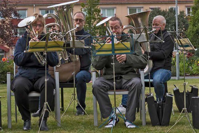 Uppskattat musicerande av hornmusikkår