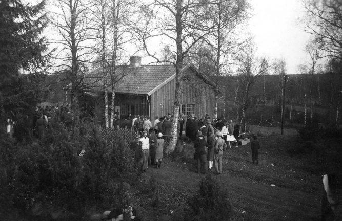 Den nya Friluftsgården för 75 år sedan