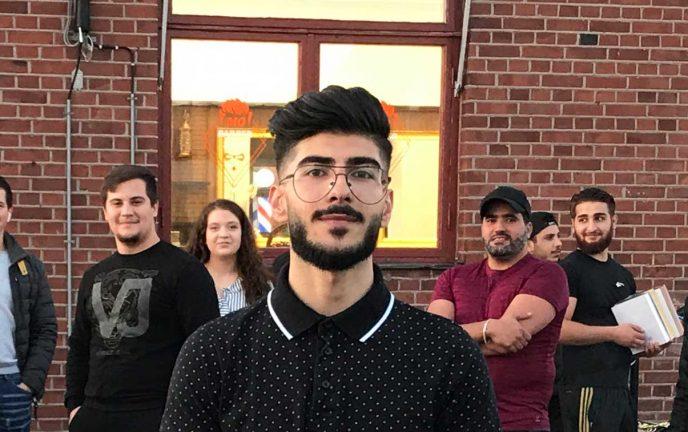 Mohammad invigde sin nya salong