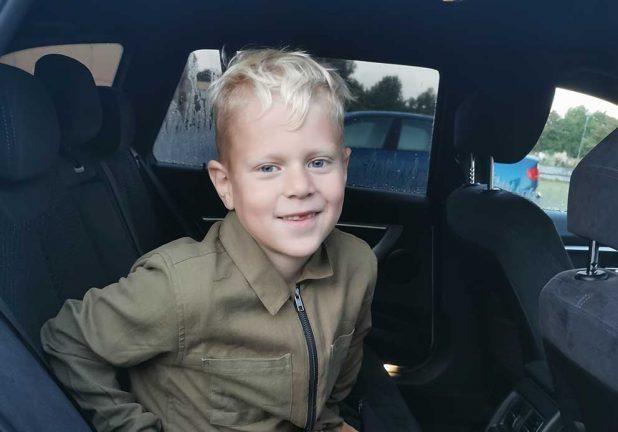 Ian Jalonen 7 år