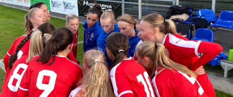 5–0 för IFK i damtrean