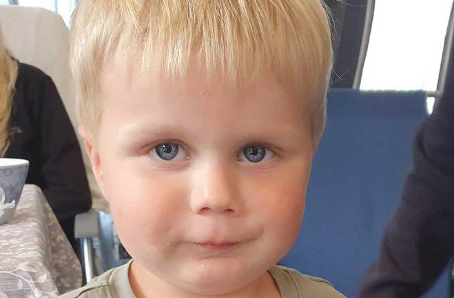 Jayson Mattsson 3 år