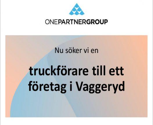 Truckförare till företag i Vaggeryd