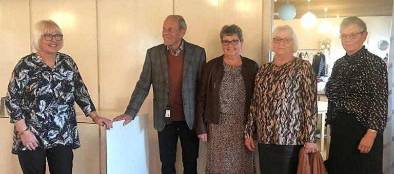 Modevisning hos SPF Seniorer