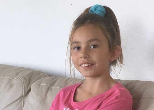 Amanda Mir 9 år
