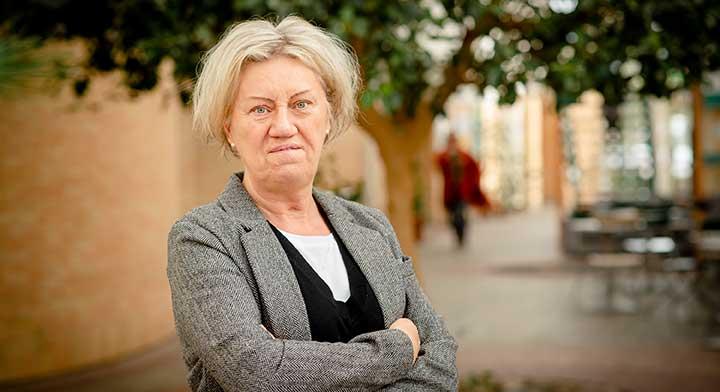 Carina Ödebrink hemma efter valet i USA