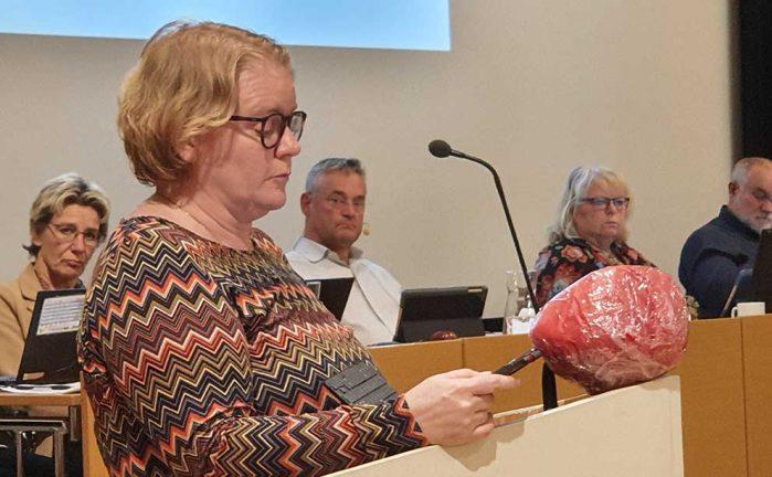 Helena från Hok – ny i styrelsen för Tro och solidaritet i länet