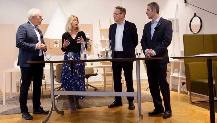 Swedeses vd i ministersamtal