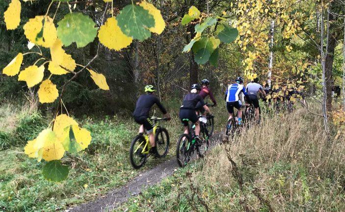 Bildextra: Med cykel på Trolleberget