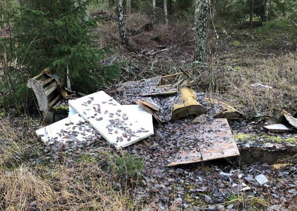 Skogsbolag kräver kommun att städa upp