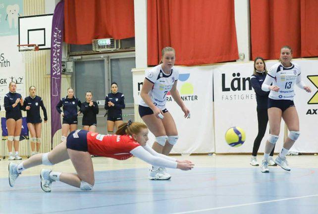 Bildextra: Maratonset för Värnamo Volley