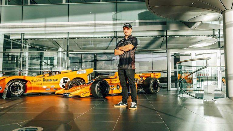 Felix Rosenqvist laddar för ny säsong