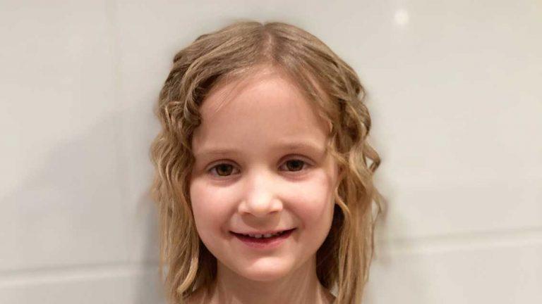 Mila Lövdahl 5 år
