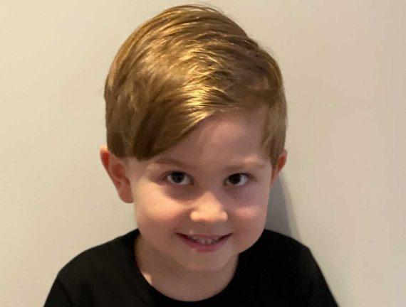 Nils Carlsson 6 år