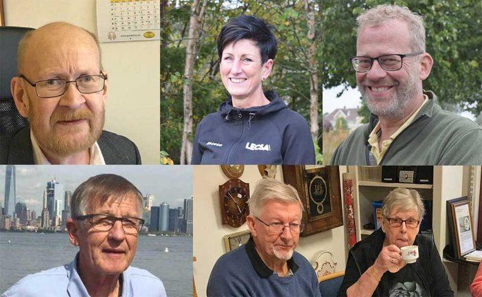 Fem kandidater som Årets Skillingarydsbo 2020