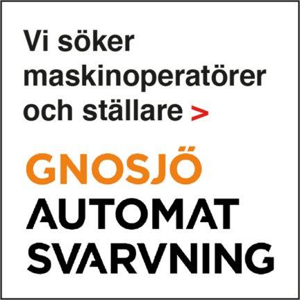 Maskinoperatörer och ställare sökes