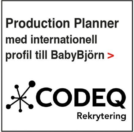 Codeq erbjuder ett nytt jobb
