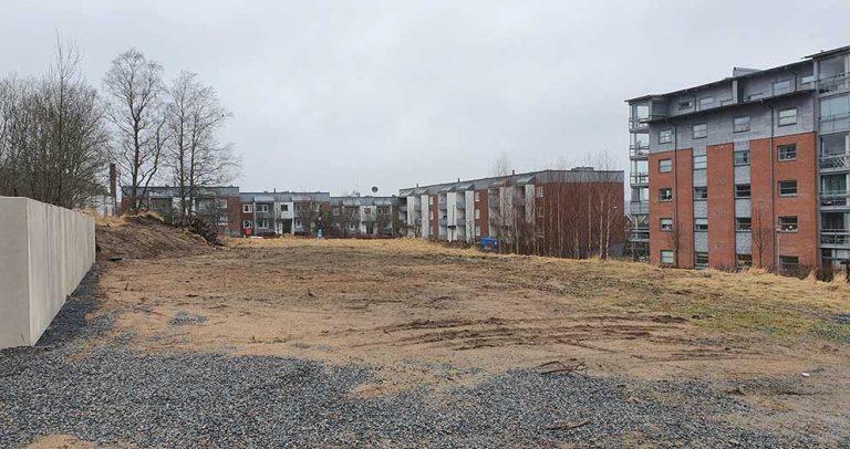 Planerar för 16 lägenheter och parhus