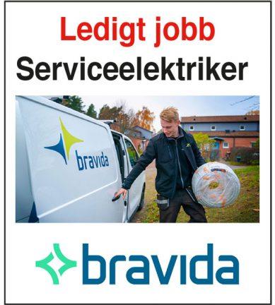 Serviceelektriker sökes