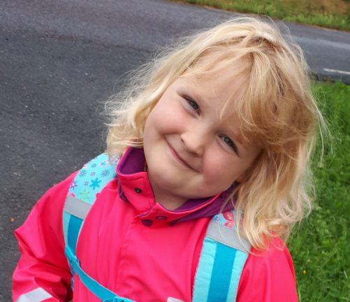 Ellinor Silfvertegen 7 år