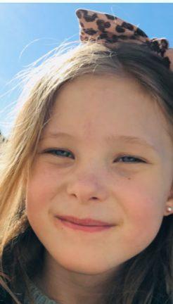 Kajsa Ahlqvist 8 år