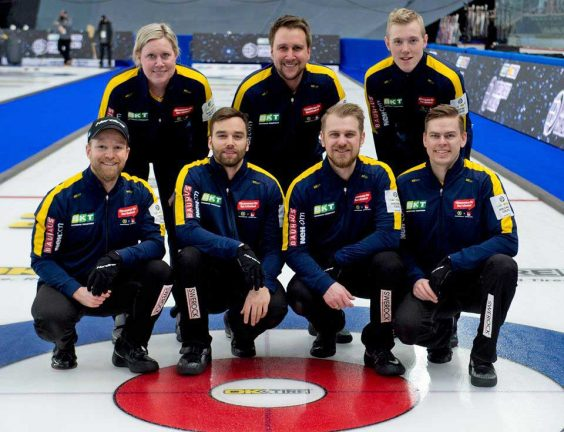 Svenskt VM-guld i curling