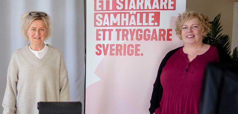 Carina Ödebrink omvald som S-ordförande