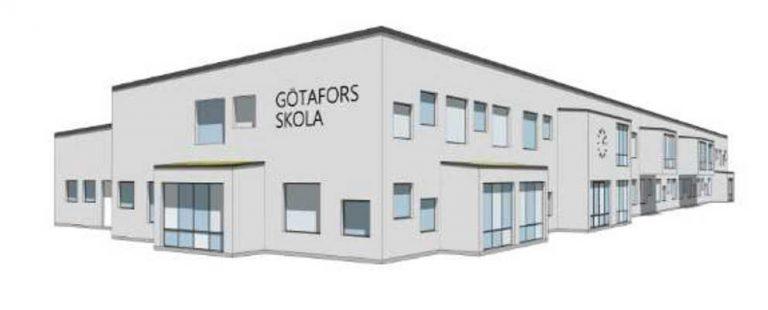 Nya Götafors skola presenterades