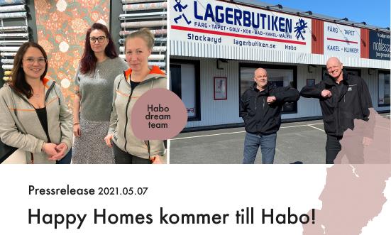 Happy Homes expanderar med ny butik